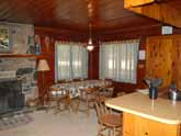 Yosemite Vacation Rental: view of the comfortable dining area