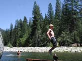 Swimming Hole on Merced River in Wawona